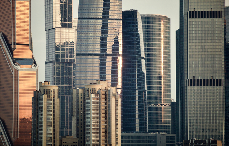 Tall skyscrapers