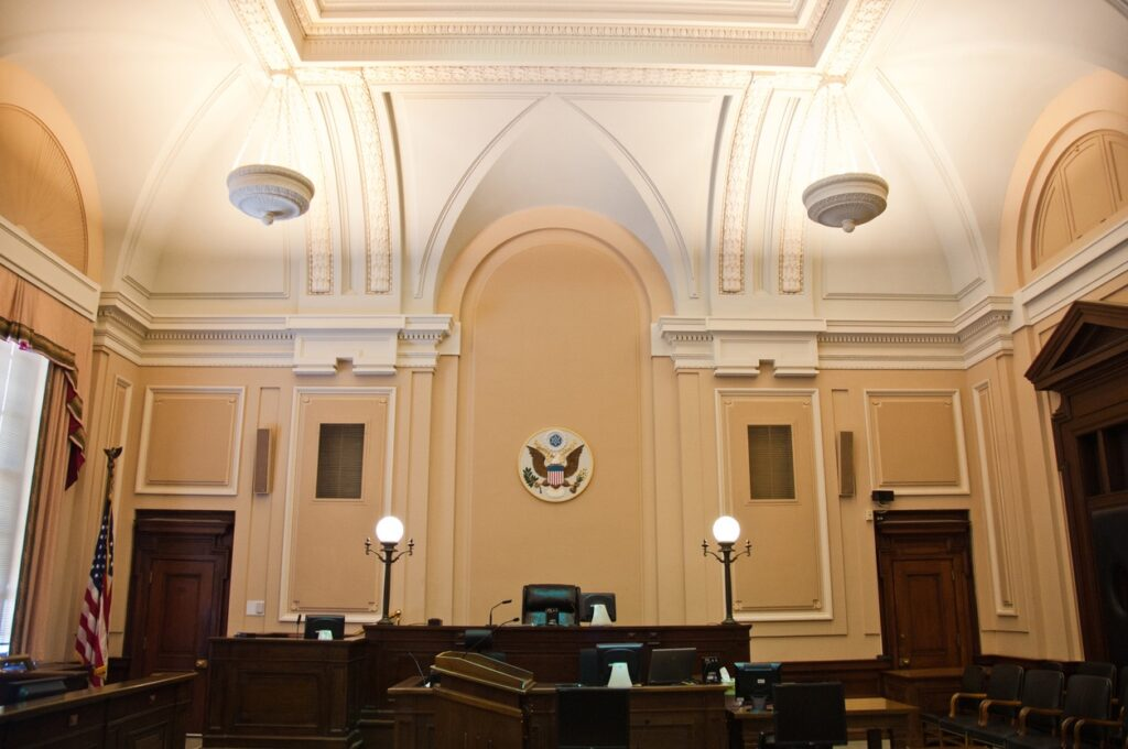 Federal Courtroom
