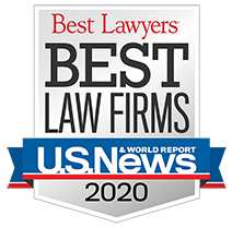Best Law Firms 2020.